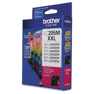 Brother LC205M Innobella Super High-Yield Ink Cartridge - Magenta (BRTLC205M)