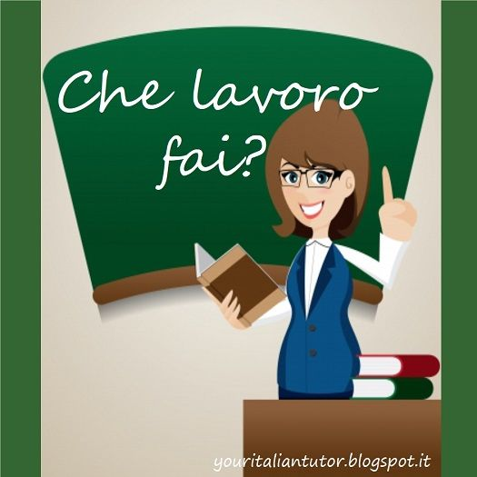 Italian lesson: How to talk about job