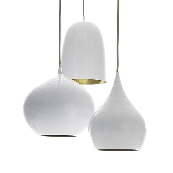 Crate & Barrel Silvia Lamp Trio Remodelista
