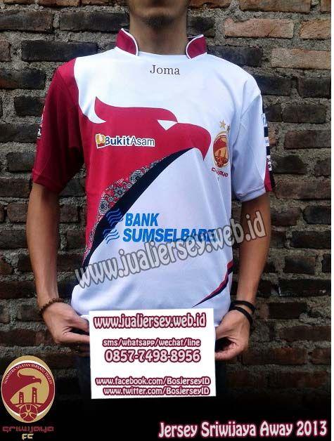 Jersey Sriwijaya Away 2013-2014 | Jersey Sriwijaya FC Away 2013-2014