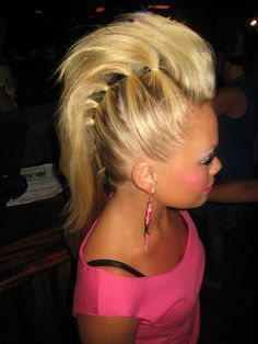 Best 25 rock star hair ideas on pinterest rock star birthday crazy hair for the girls for their wacky hair day at school how stinking cute pmusecretfo Images
