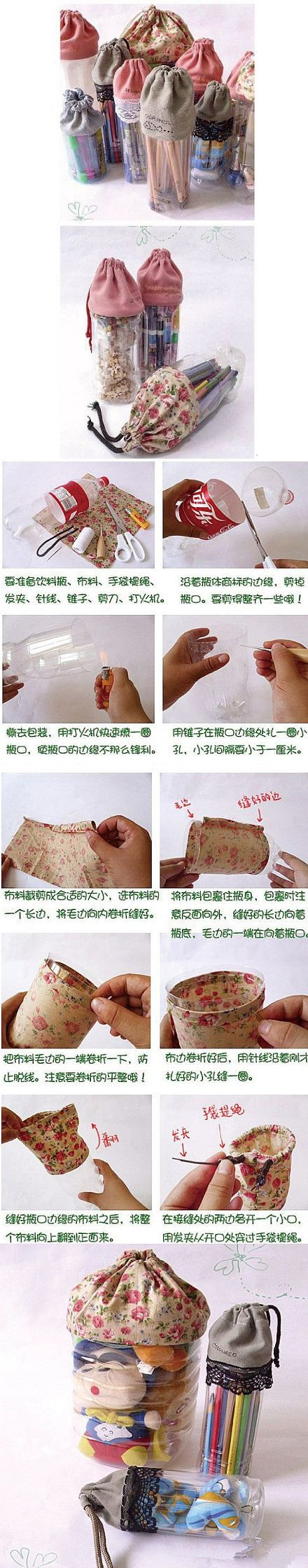 Tutorial DIY DIY handmade bottle pouch, have to admire the creativity pouch ...