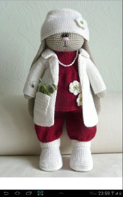 Use Rabbit Peas body pattern.