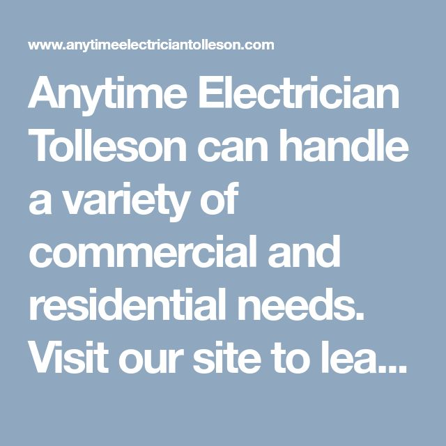 Anytime Electrician Tolleson can handle a variety of commercial and residential needs. Visit our site to learn more about our electrical contractors and services. Or dial (623) 226-4160 today. #ElectriciansTollesonAZ #BestElectricianTolleson #ElectricalServiceTollesonAZ #ElectricalContractorsTollesonAZ #AnytimeElectricianTolleson