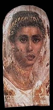 A Woman, Saqqarah ( ?), AD 100-120 or 138-161 (London, British Mueum, EA 29772)