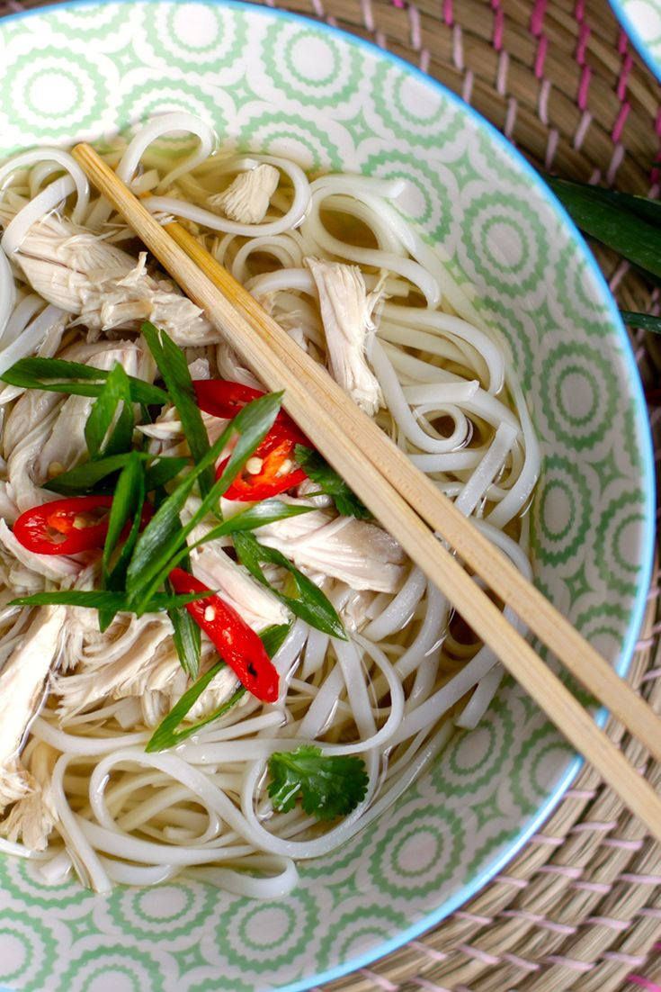 This Vietnamese Chicken Noodle Soup is jam-packed with flavour.