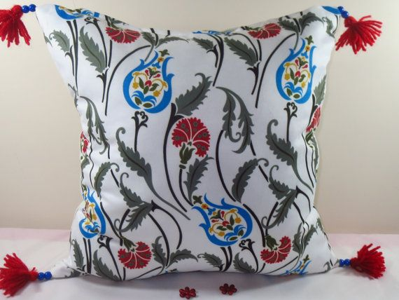 OTTOMAN Tulips Pillow Cover/Home Decor Pillow by AYLISPILLOW