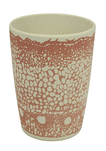 ZIPCUP DNA. Cup. material based on eco friendly bamboo fiber and corn starch. Several prints and products available. Design: Rozemarijn Groenewold