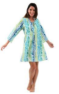 Spirituelle Ocean Breeze Cotton Tunic Dress