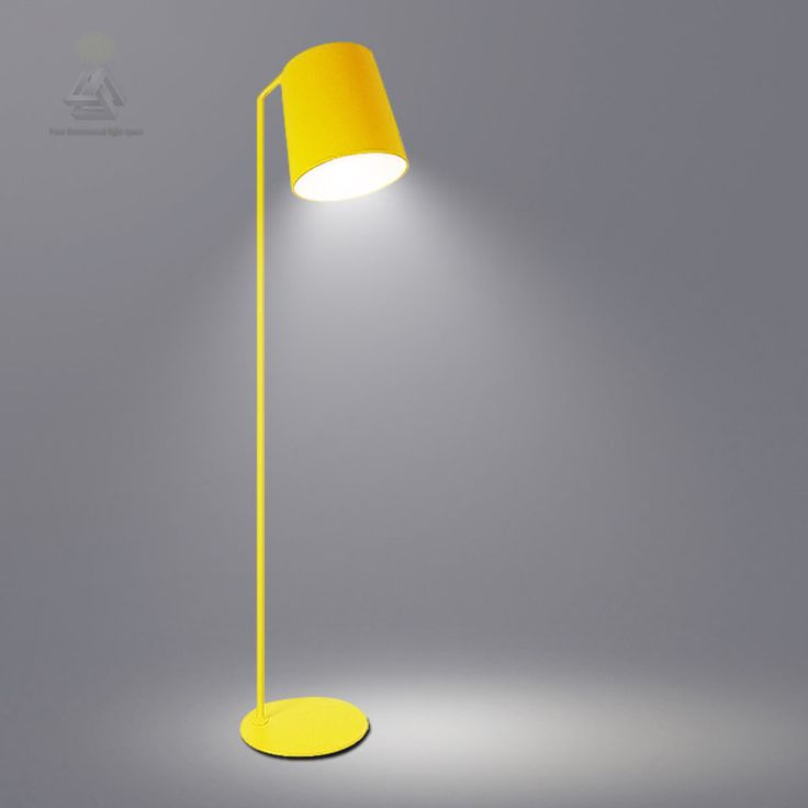 LED Modern Industrial Floor Lamp Stand Arm Simple Lamps Light Fixtures for Living Room Decoration Colorful Hotel Home Decor