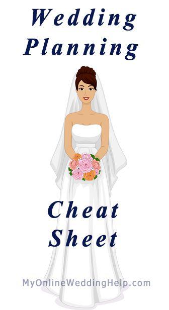 Wedding Planning Cheat Sheet