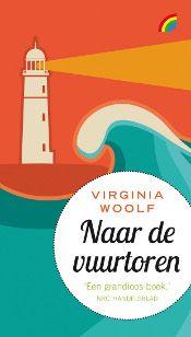 Cover Virginia Woolf Naar de vuurtoren Rainbow hardback