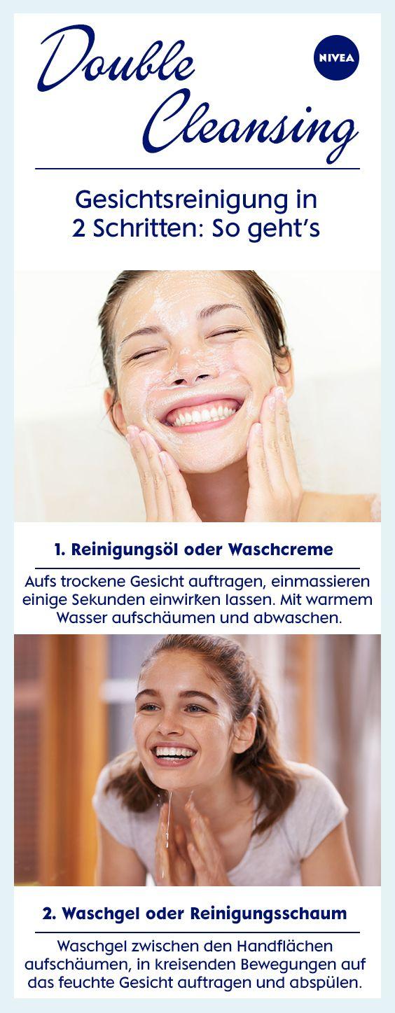 Erst Reinigungsöl, dann Waschgel: Warum es sich lohnt, das Gesicht in zwei Etappen zu waschen und Double Cleansing mehr als ein Trend ist.