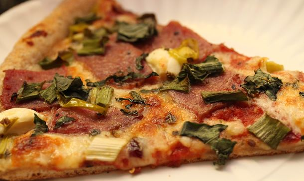 An SD treat! Zia Gourmet Pizza-The New Yorker Pizza..hands down best pizza.