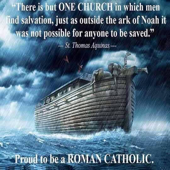 Image result for Photo Outside the Church there is no salvation-Ark of Noah
