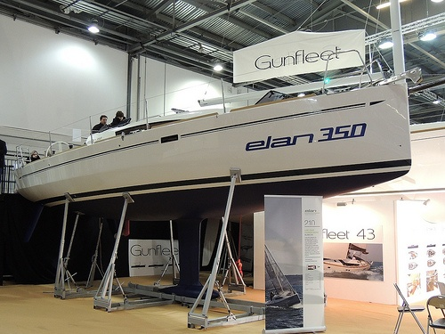 Elan 350 Sailing Yacht at the Tullett Prebon London Boat Show