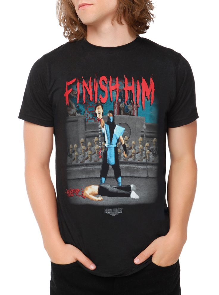 Mortal Kombat Finish Him T-Shirt | Hot Topic