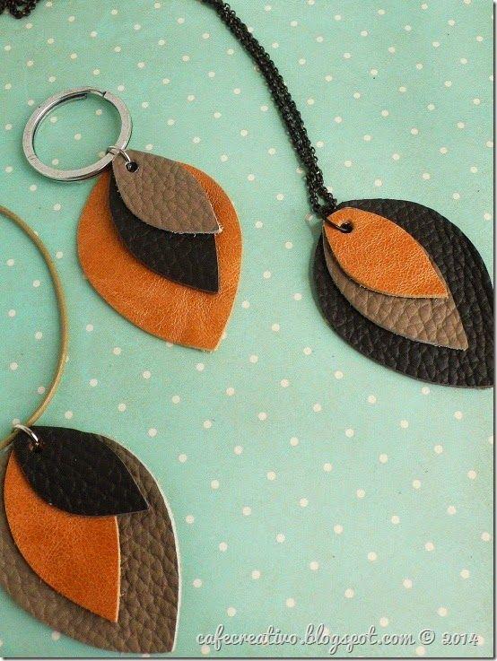 Easy Leather Jewelry; Sizzix Big Shot, Tutorial: Come fare Bijoux in pelle con le fustelle Bigz