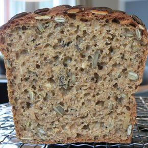 Rezept Schnelles Kürbiskernbrot von Julchen1989 - Rezept der Kategorie Brot & Brötchen