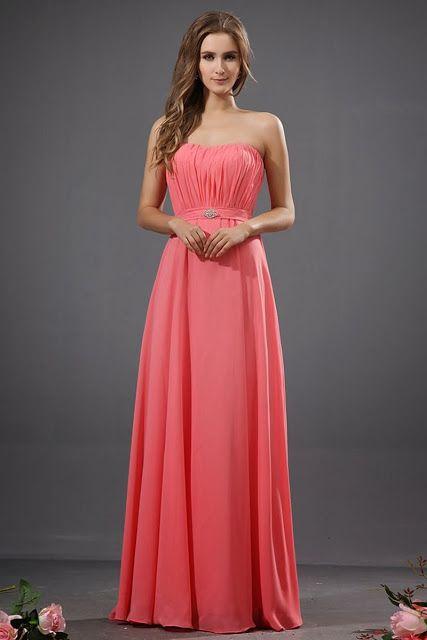 Largos vestidos de fiesta | Una hermosa opcion