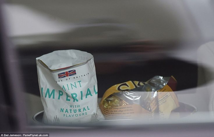 Pregnancy cravings? The Duchess of Cambridge travelled with a car full of traditional Mint Imperials and Werther's Originals sweets