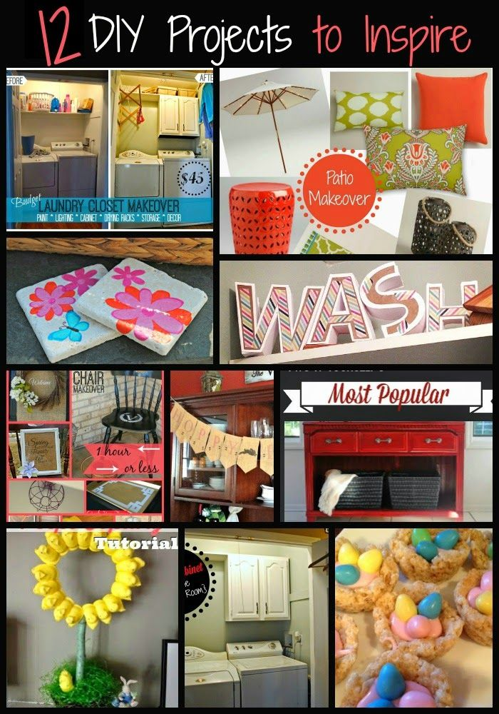 115 best diy spring decor images on pinterest silhouette school 12 diy projects to inspire diy spring projects crafts solutioingenieria Images