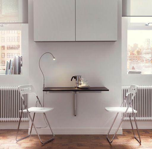 126 best images about ikea drop leaf table on pinterest for Ikea wall mounted drop leaf folding table