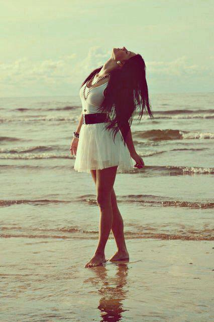 Inspiring image babe, beach, beautiful, cute, fashion, free, girl, hair, hot, love, photography, pretty, sea, sexy, skirt, spring, summer, swag, white,