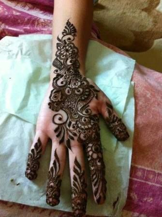 Arabic Mehndi Design For Hands And mehndi Arabic designs | Pakifashion