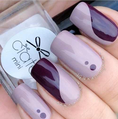 Nails Inc. Kensington Gate and Saville Row ; Ciate Speed top coat. (there are other colors unidentified)