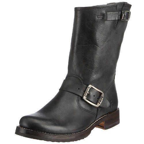 BLACK $267.50 Amazon FRYE Women's Veronica Short Boot,Black Tumbled Full Grain, 8 M FRYE http://smile.amazon.com/dp/B000S5V26S/ref=cm_sw_r_pi_dp_0KXkub0AVC6BJ