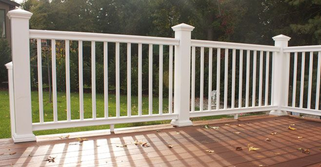 Best images about lovely vinyl porch and deck railing
