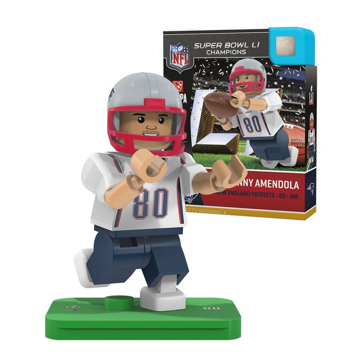OYO Sportstoys New England Patriots Super Bowl LI Danny Amendola Minifigure at The Paper Store