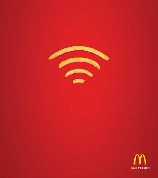 McDonalds Wi-Fries - one of our favourite ad's!