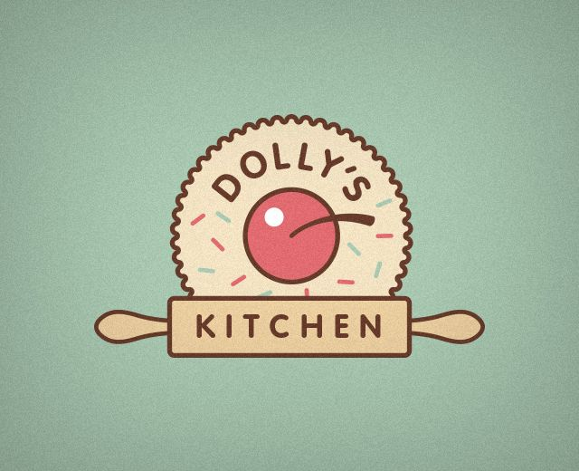 Dolly's Kitchen | #logo #design