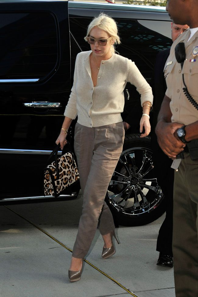 How to dress for court: The many conservative styles of Lindsay Lohan - The Week