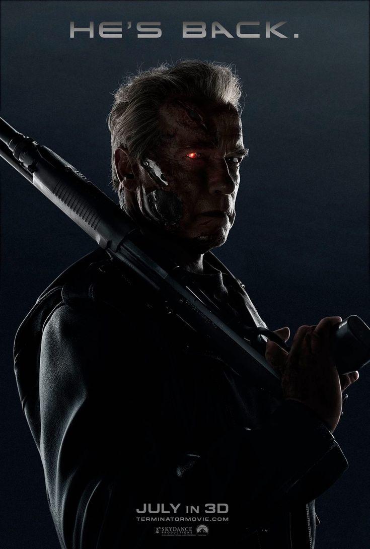 Terminator Genisys (USA, 2015). El regreso... Muy simple pero poderoso y todos estamos felices con este póster.