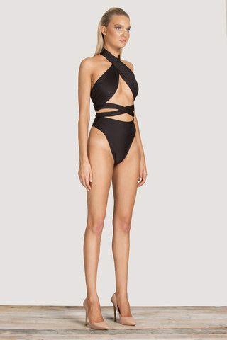 Zana Multiway Bikini Top - Black