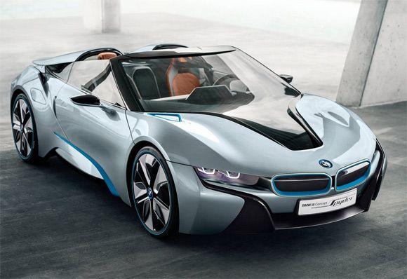 BMW's hybrid i8 Spyder Concept- love