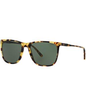 Polo Ralph Lauren Sunglasses, PH4102 - TORTOISE BLONDE/ GREEN