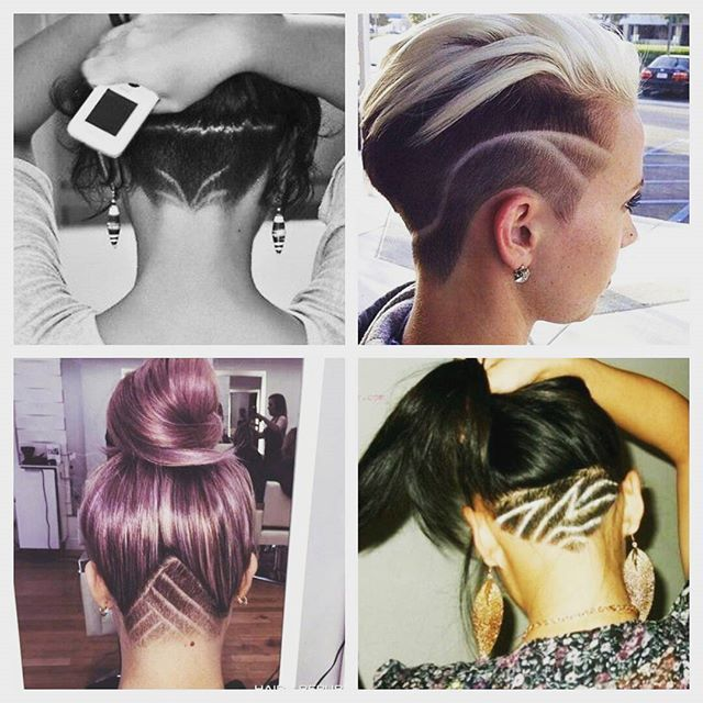 http://natural-hairs.com/57-most-attractive-short-hairstyles-that-drive-men-crazy-loco/ We are SO inspired by these undercut hairstyles! So simple but unique and effective! Undercut hairstyles for women with long, medium & short tops, styles for growing out curls, hidden nape side cuts & shaved bobs with funky designs. Braided & bangs with haircut tutorials. Cute hair with sexy hair colors, wavy haircuts.