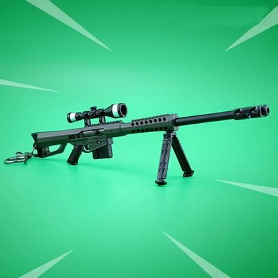 Fortnite Battle Royale Obliterator Military Sniper Rifle Weapon