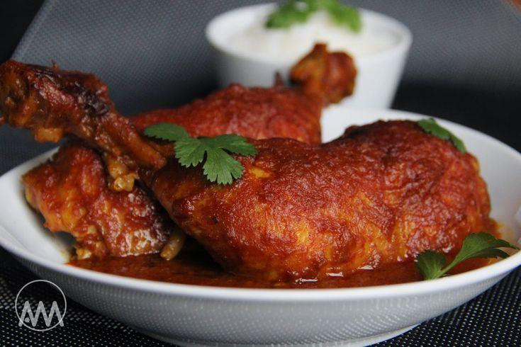 V kuchyni vždy otevřeno ...: Kuře v cibulové curry marinádě