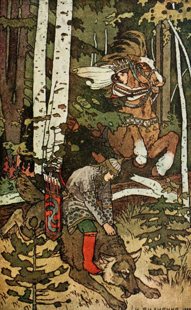 fuckyeahvintageillustration:    'The Russian fairy book' translated by Nathan Haskell Dole, illustrated by Ivan Bilibin. Published 1907 by Thomas Y. Crowell & Co, New York.  See the complete book here.