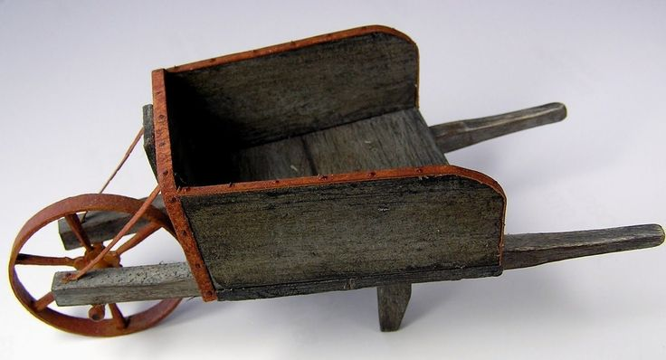 how to: wheelbarrow. Plus many more DIY miniatures