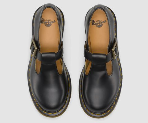Buckled Mary Janes - the Dr. Martens POLLEY Shoe.