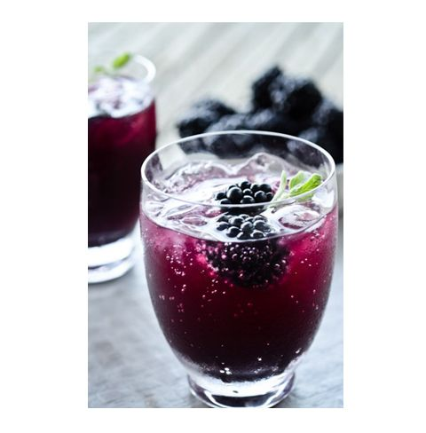 You can't go wrong with blackberries and it looks so pretty. Hopefully it tastes as good as it looks.