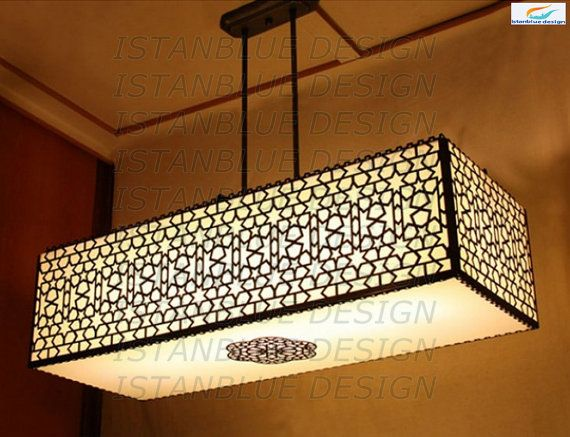 Ottoman Lazer Cut Turkish Handmade Chandelier  by IstanblueDesign