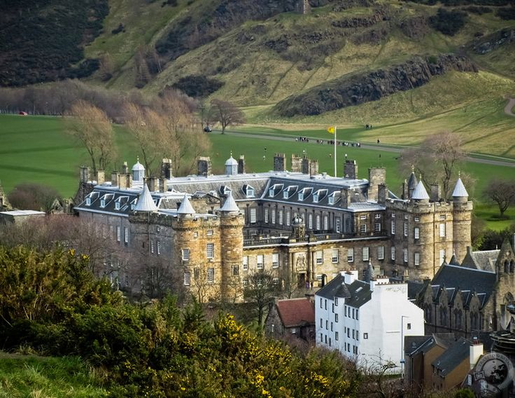 Holyrood Palace, Edinburgh, Scotland The official Scottish Residence of the Queen.