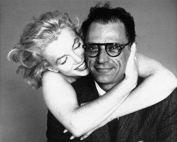 Marilyn Monroe and Arthur Miller by Richard Avedon, New York, May 8, 1957